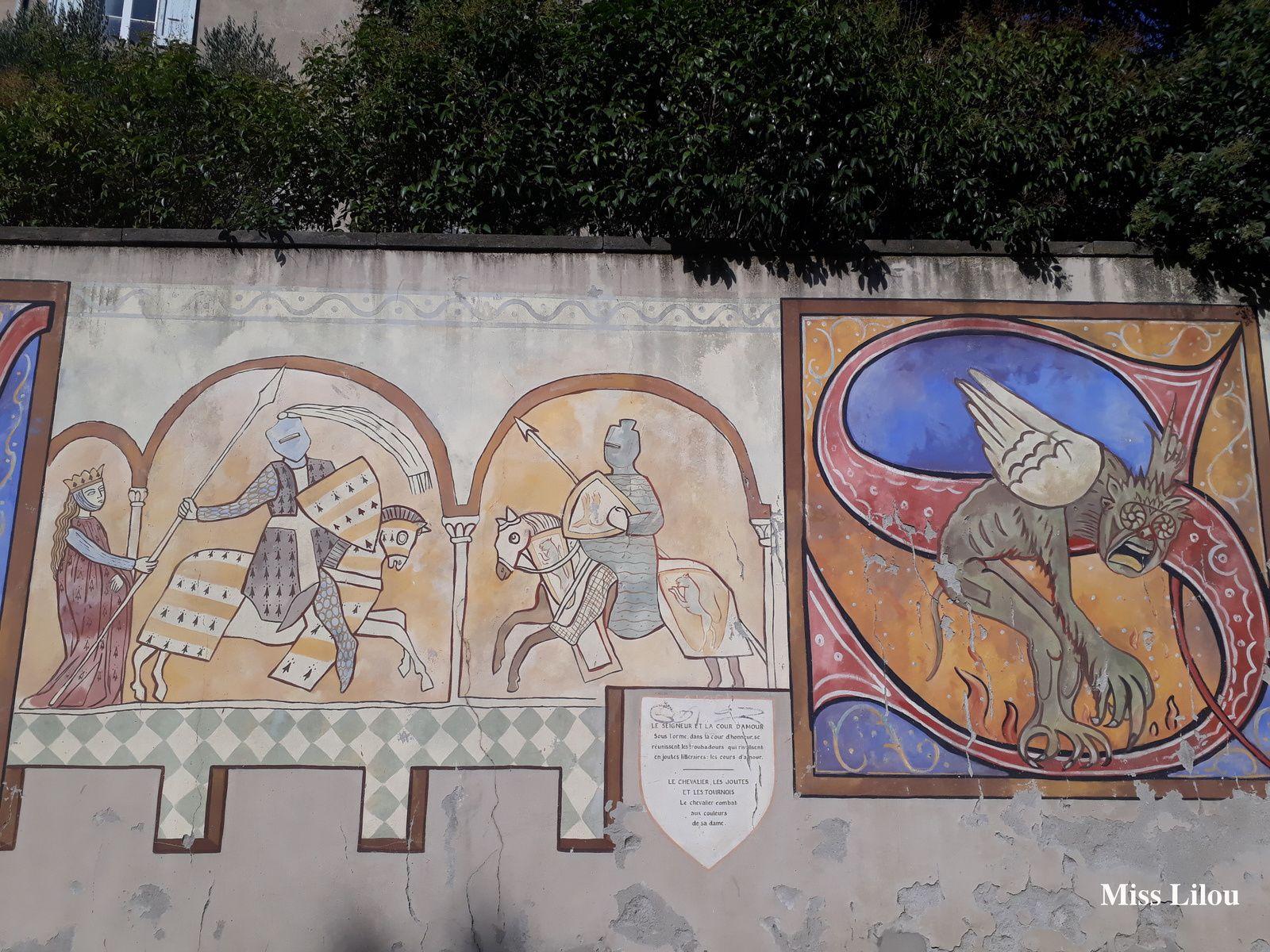 Combat et Diable, Cité médiévale de Carcassonne