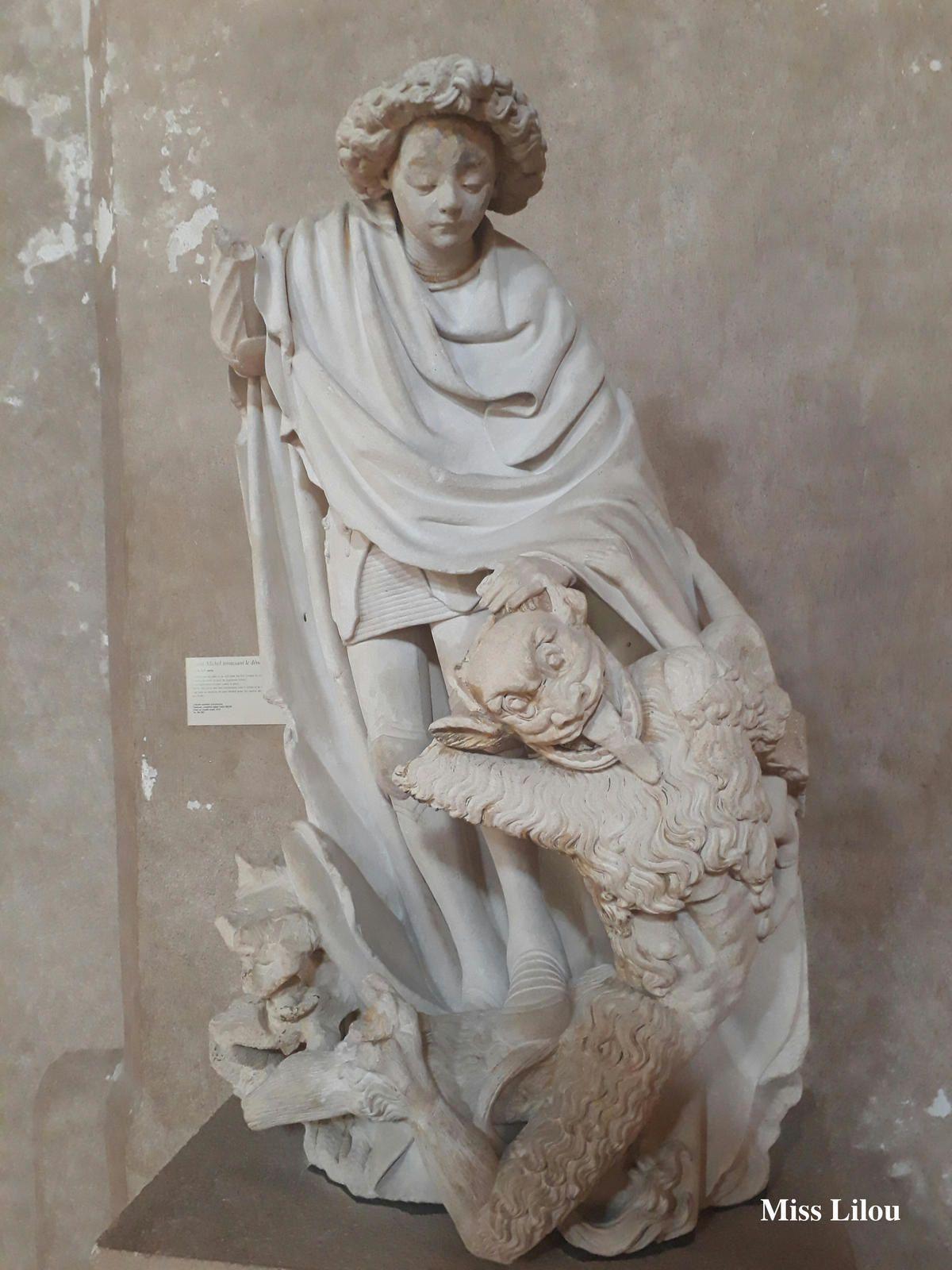 Saint-Michel terrassant le démon, Musée des Augustins, Toulouse (31)
