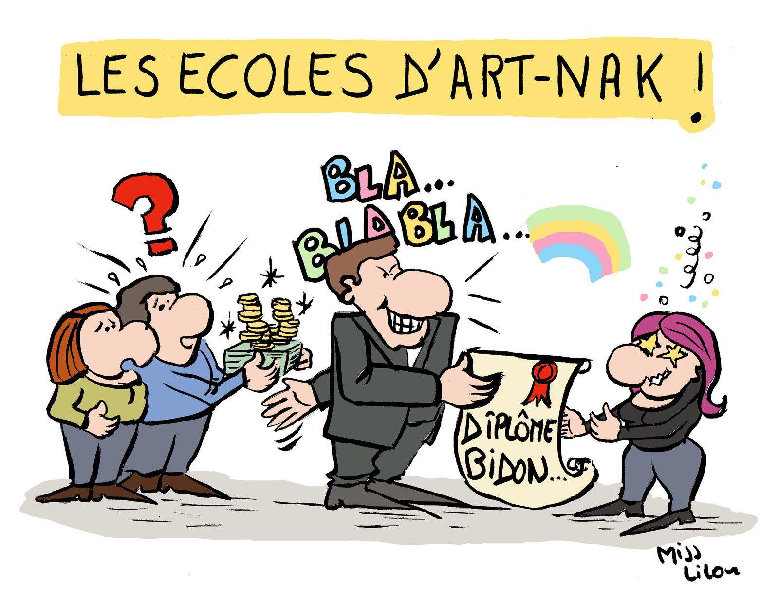 Les Ecoles d'Art-Nak !