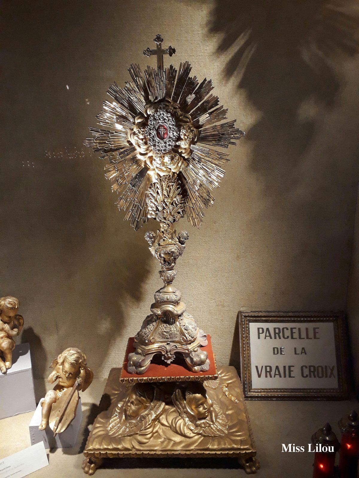 """Ostensoire reliquaire du """"Passage Saint-Jérôme"""", Eglise Saint-Jérôme, Toulouse"""