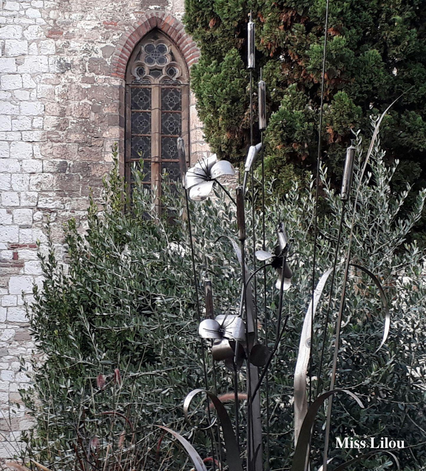 Jardin Cloître Saint-Salvi, Albi.