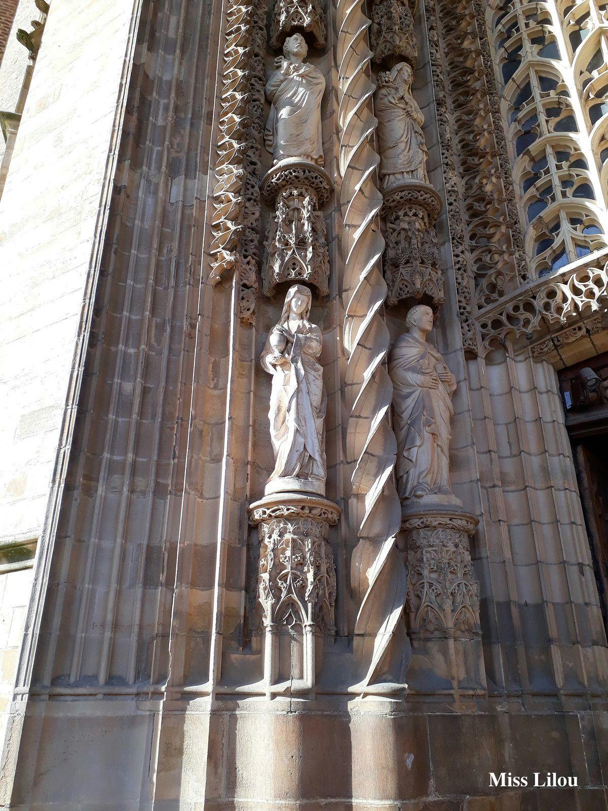 Porte d'Entrée de la Cathédrale Sainte-Cécile, Albi
