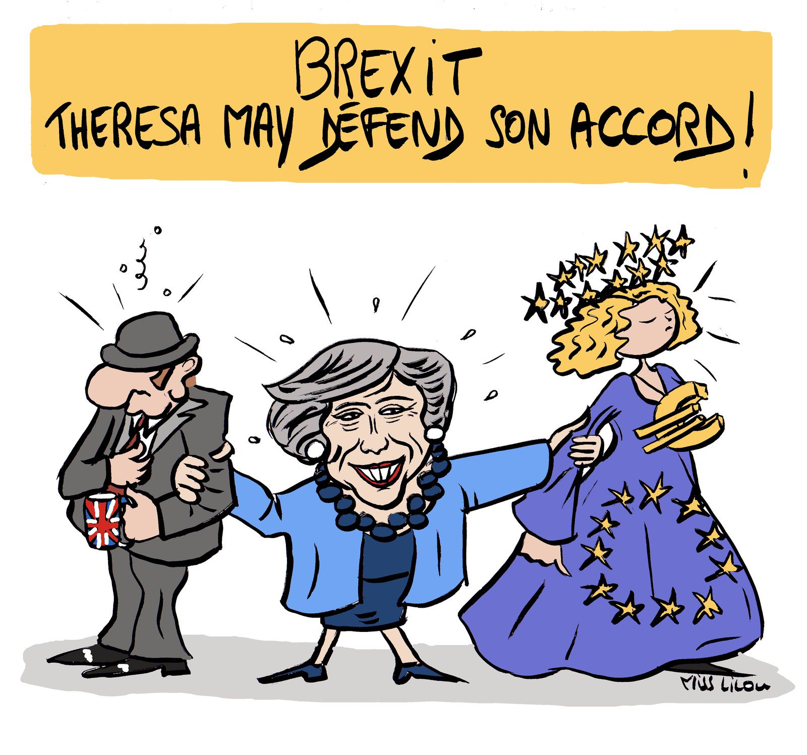 BREXIT : Theresa May défend son accord !