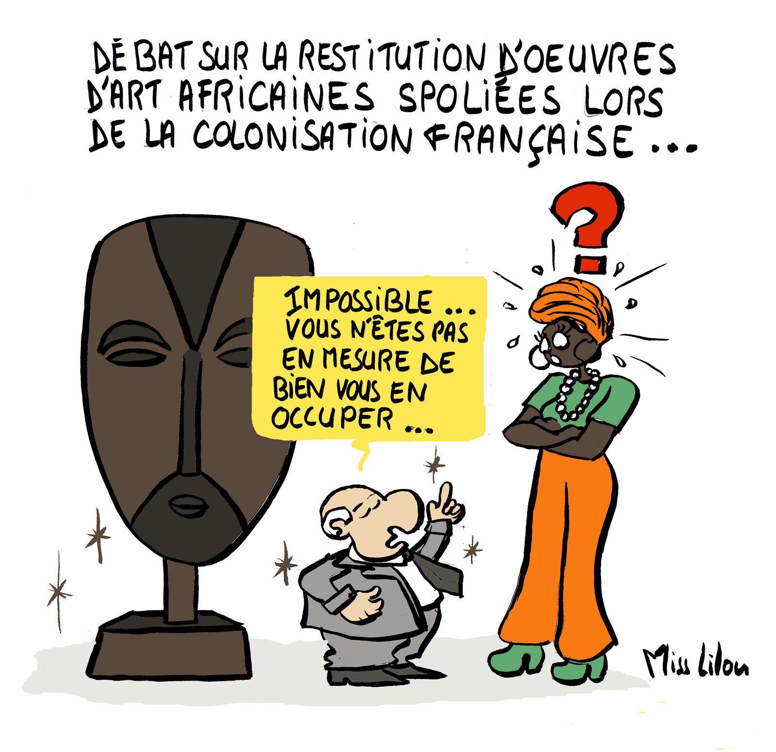 Restitution des oeuvres d'art africaines...