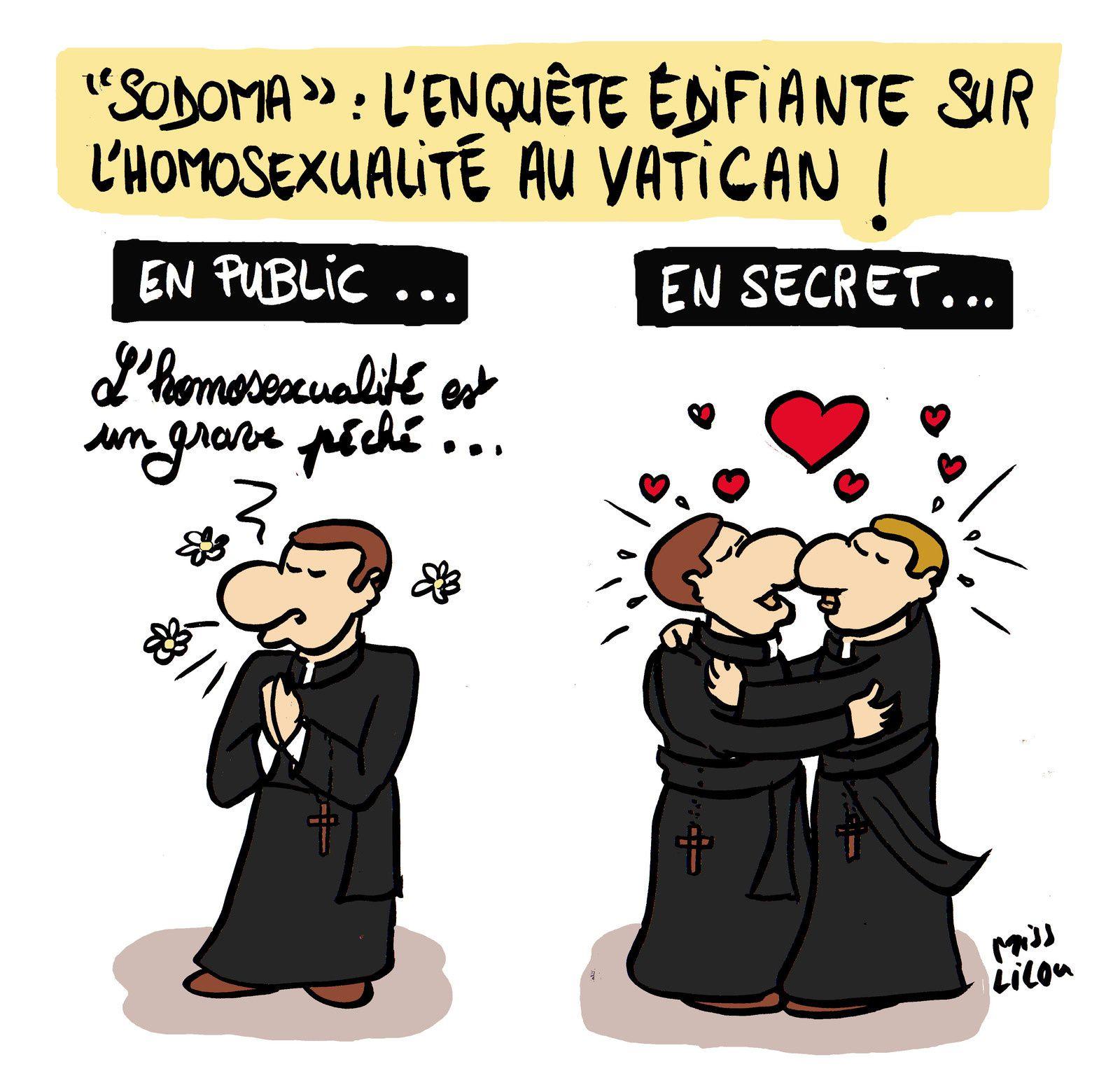 """""""SODOMA"""" : l'enquête édifiante sur l'homosexualité au Vatican !"""