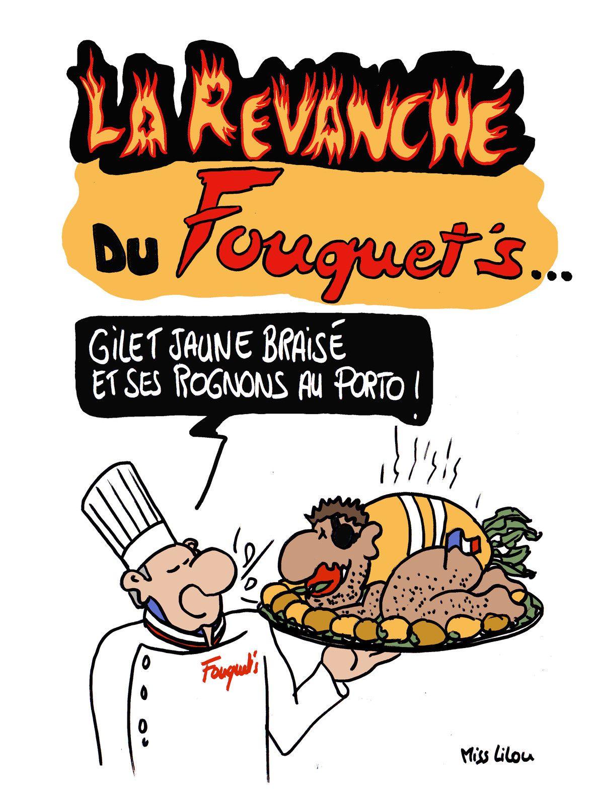 La revanche du Fouquet's ...