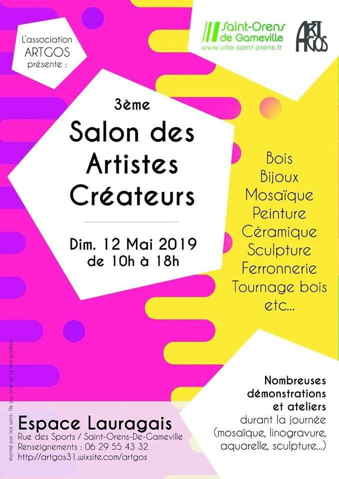 3ème Salon des Créateurs de l'Association ARTGOS