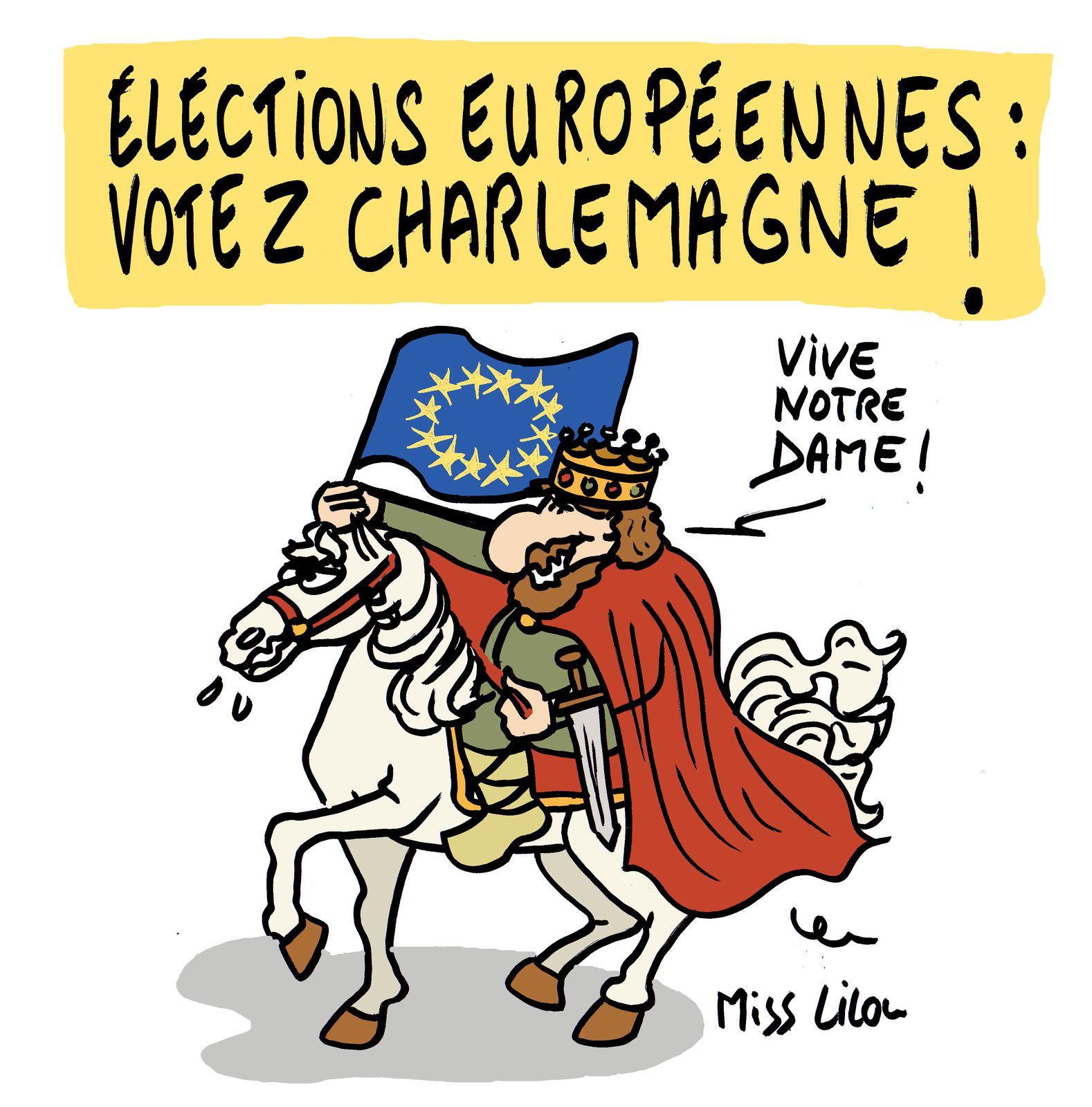 Elections européennes : Votez Charlemagne !