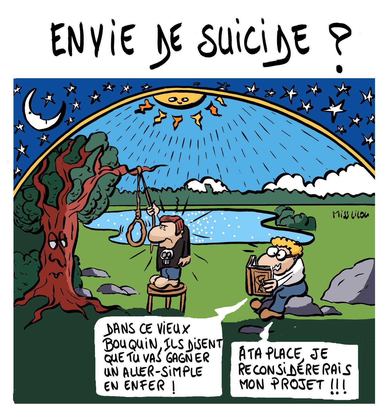 """""""Envie de Suicide ?"""""""