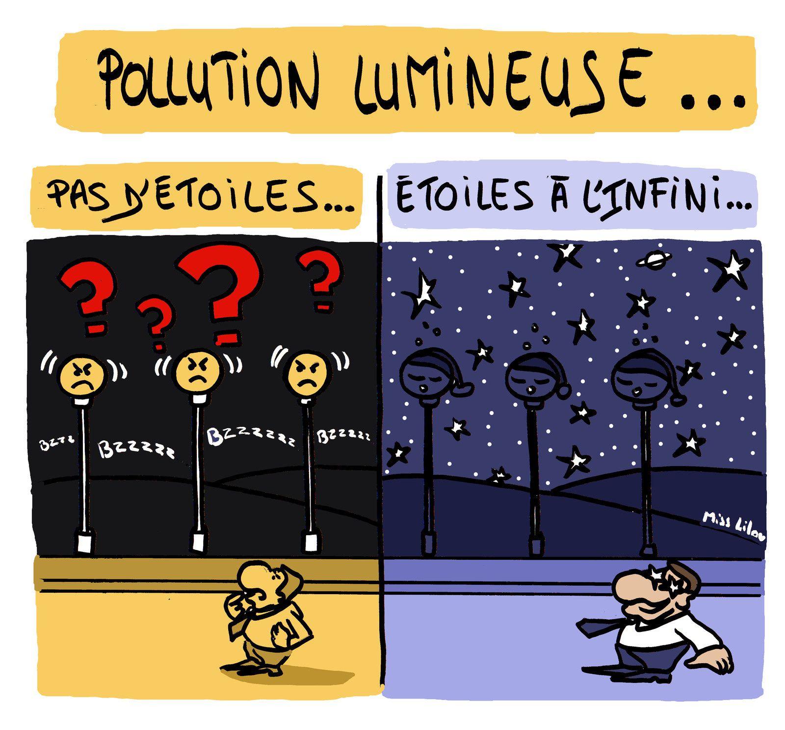 Pollution lumineuse : Sortez de la fausse lumière !