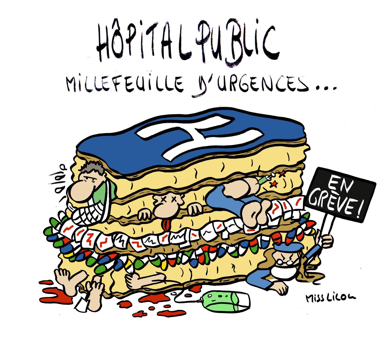 Hôpital public : millefeuille d'urgences !