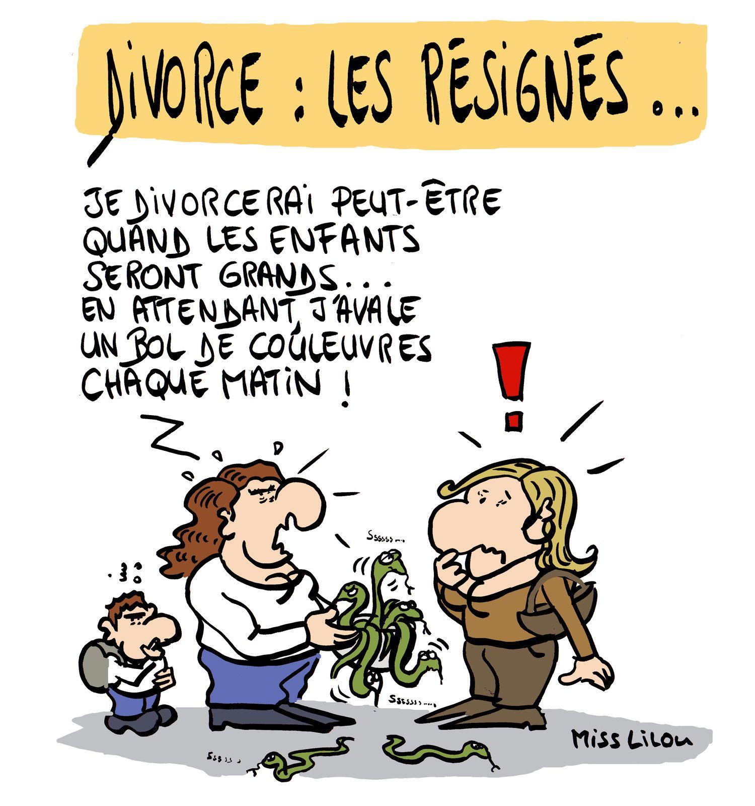 Divorce : les résignés...