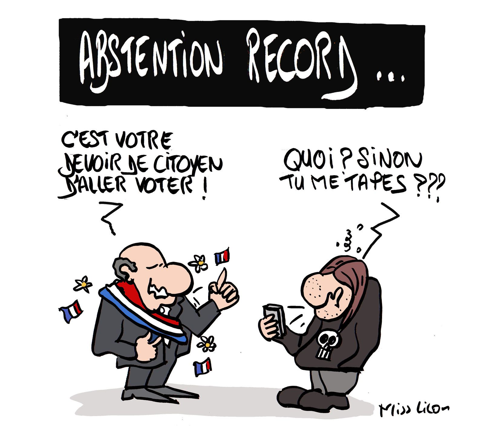 Municipales : abstention record !