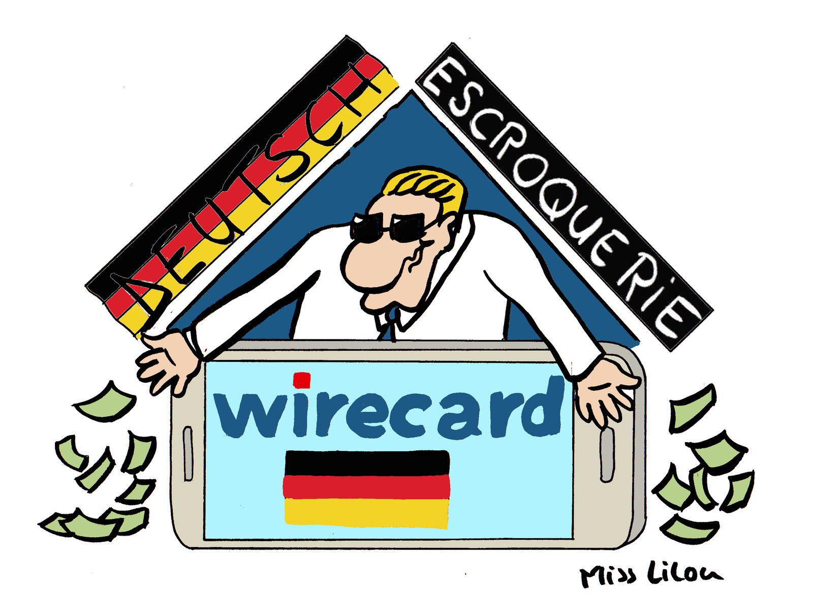 WIRECARD : la deutsch escroquerie !