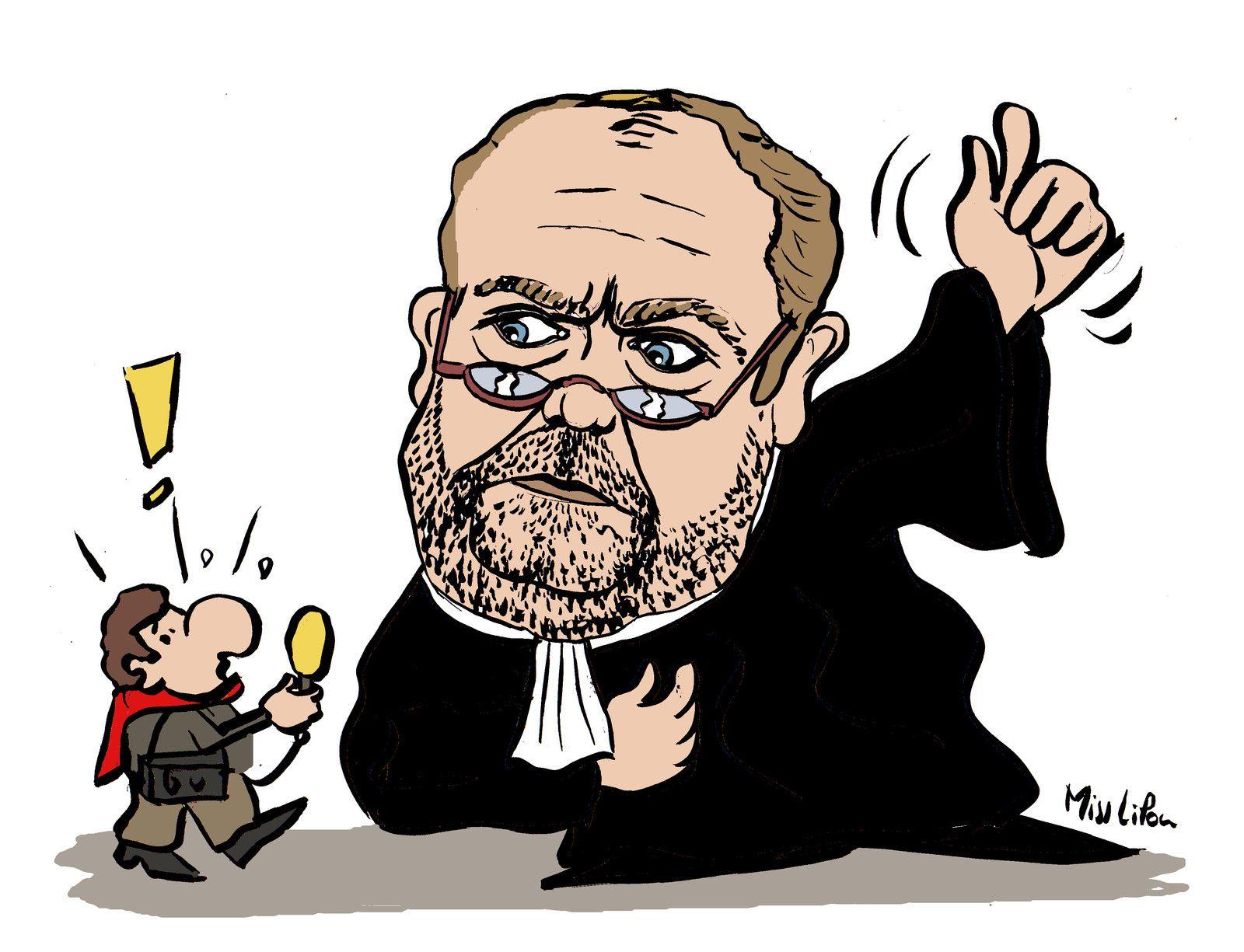 Le nouveau Ministre de la Justice : l'avocat Éric Dupond-Moretti !