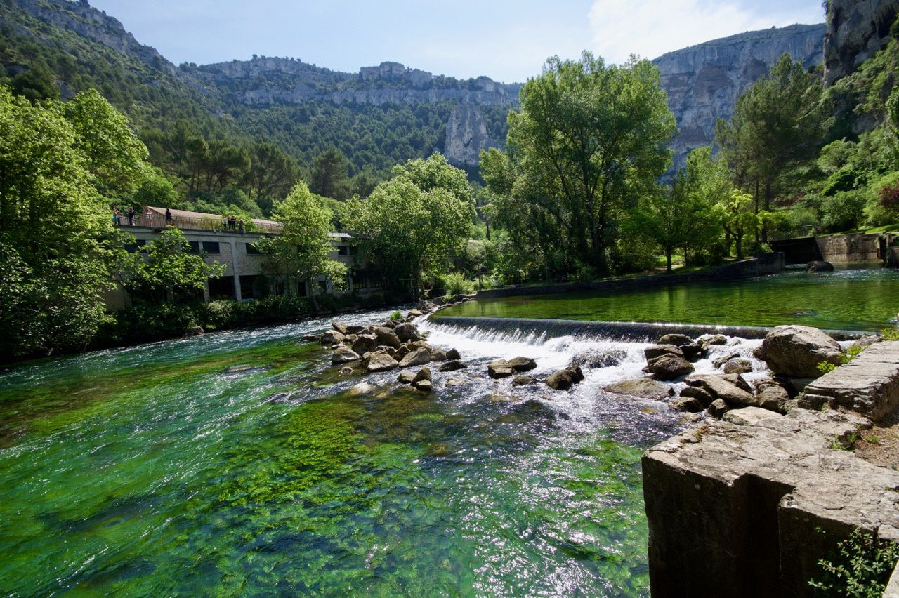 Destination Fontaine de Vaucluse Mai 2018