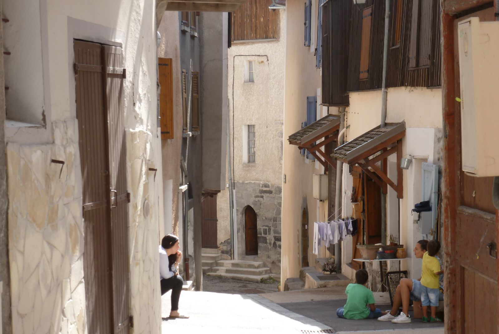 Seyne , Alpes de Haute Provence (août 2017)