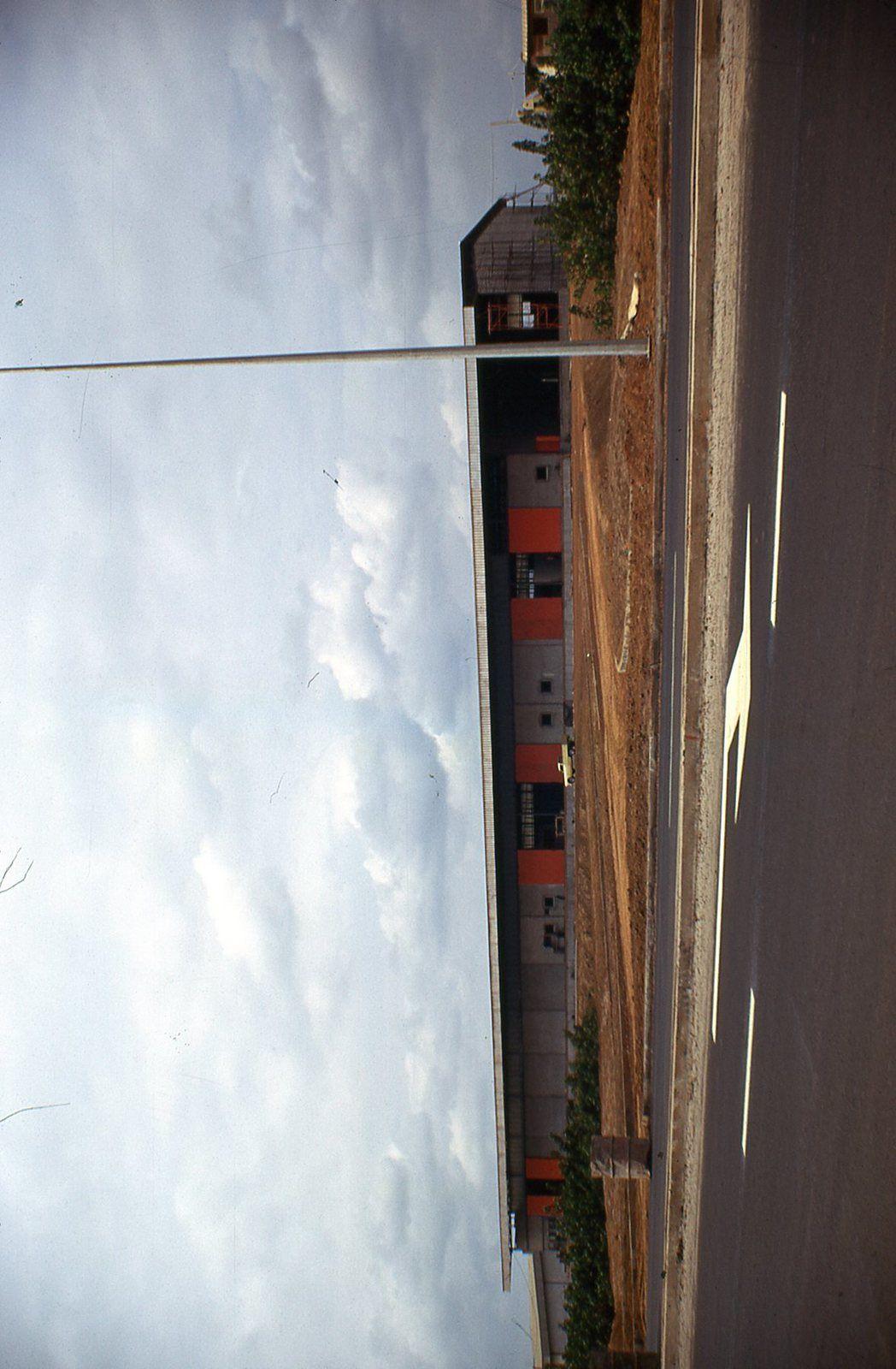 Le plus grand hangar que nous avons fait : un hangar pour l'aéroport de Librevile