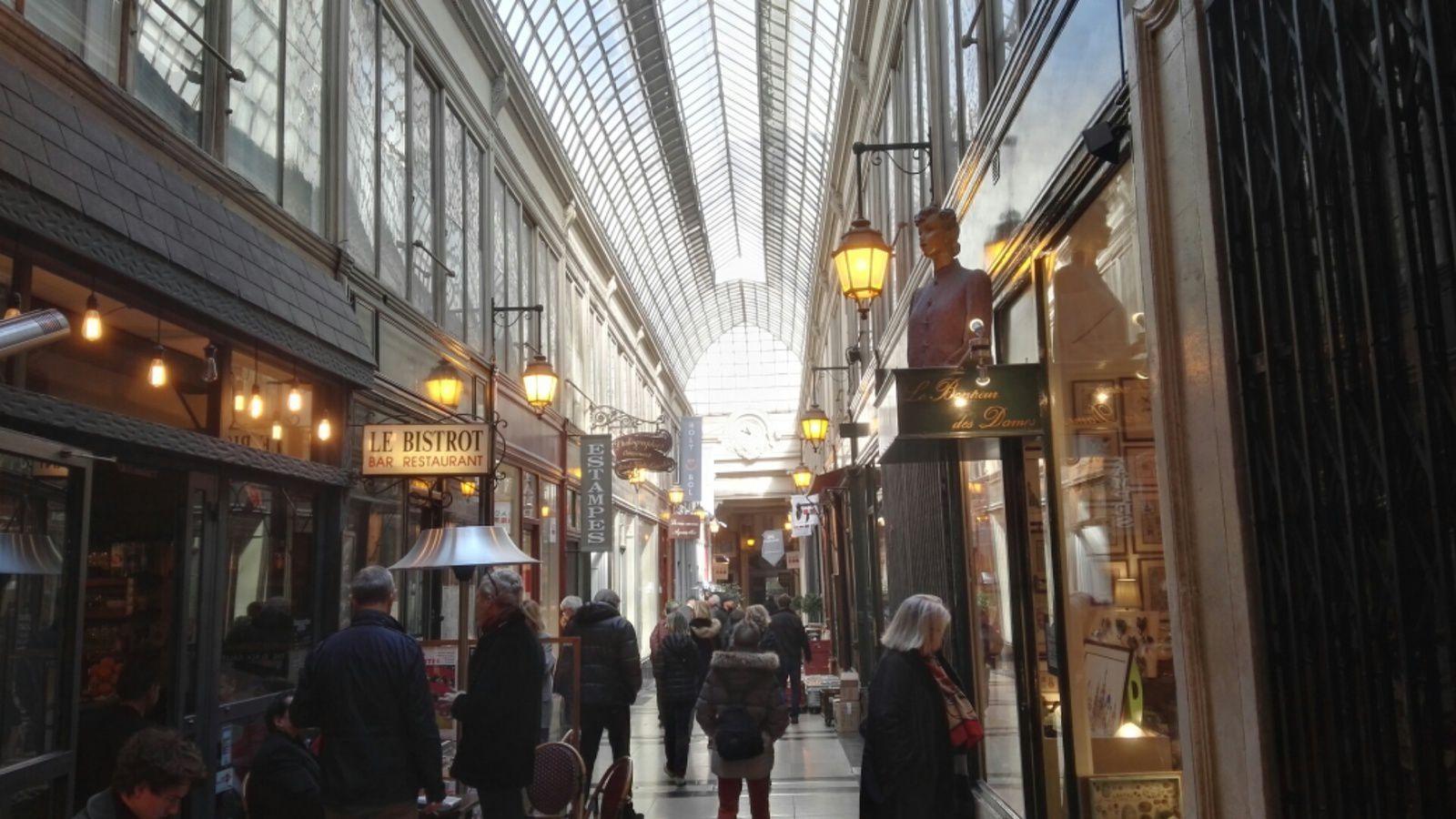 Passages couverts à Paris