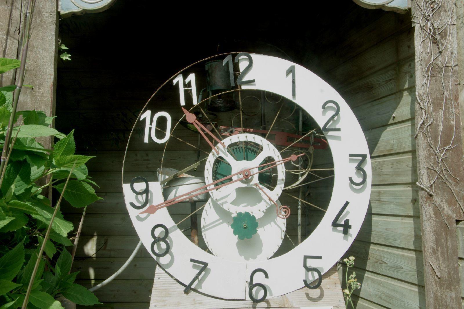 Une horloge hydraulique !