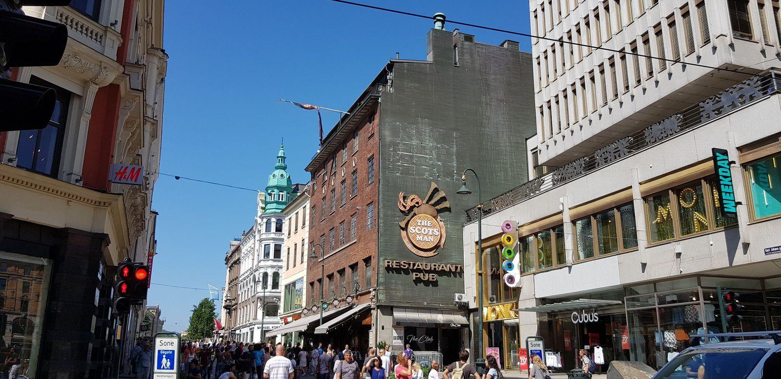 Belle journée à Oslo