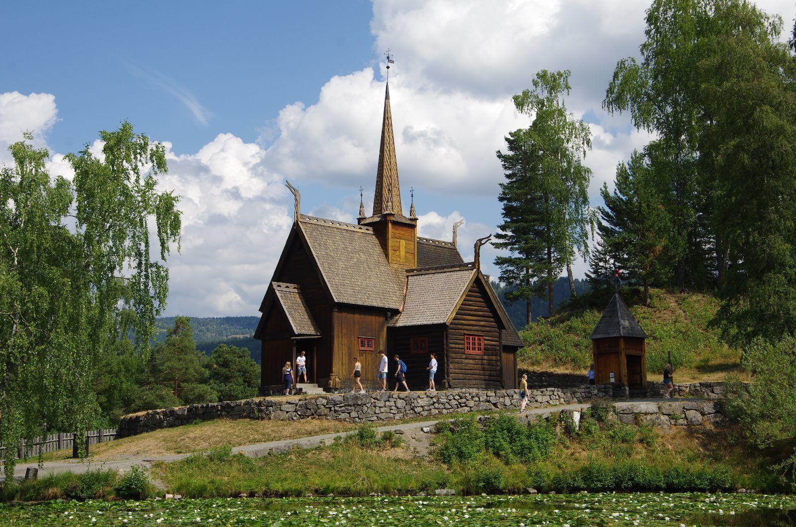 Une église en bois déconstruite et remontée dans ce musée