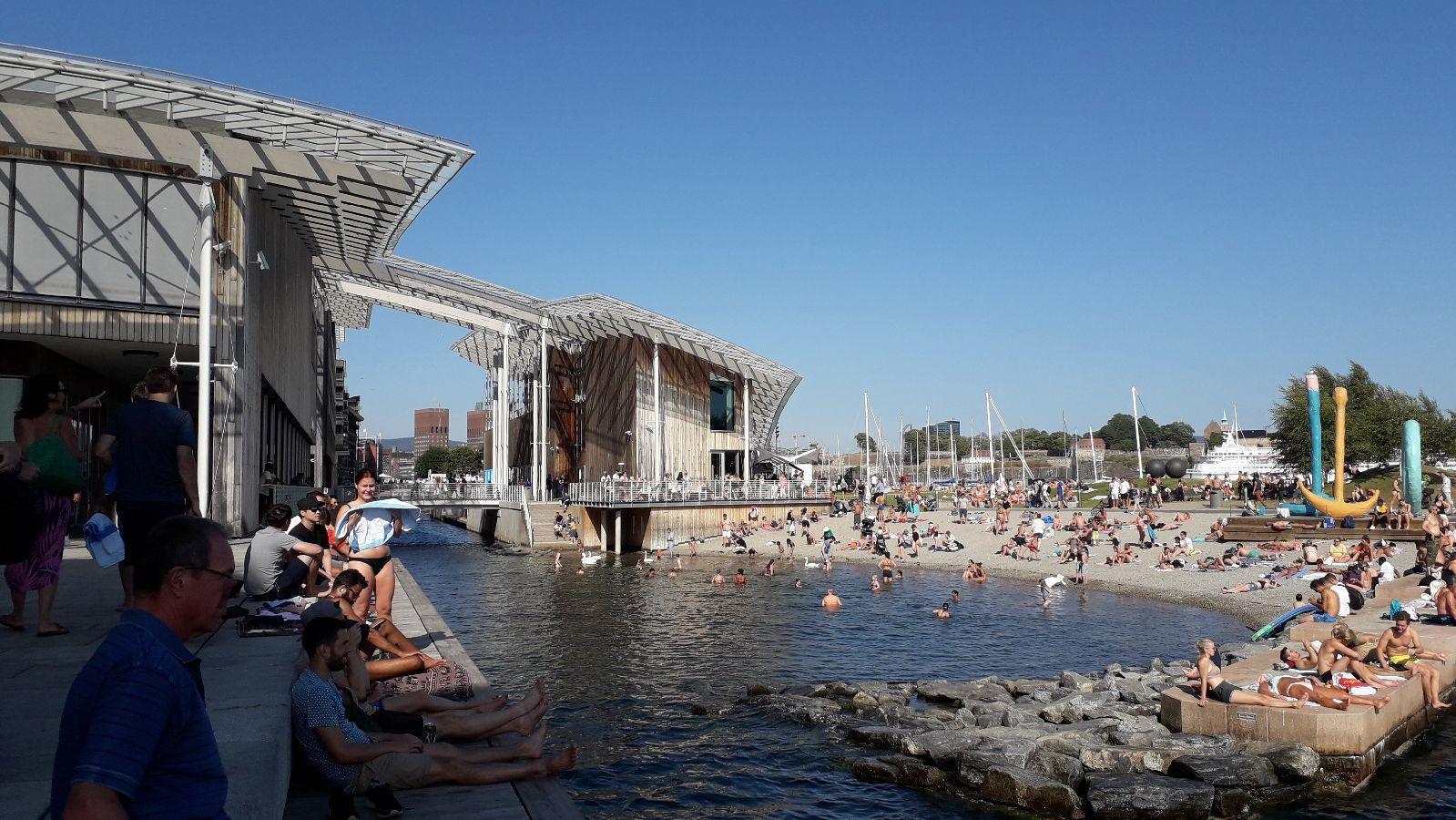 Le musée Astrup et sa plage