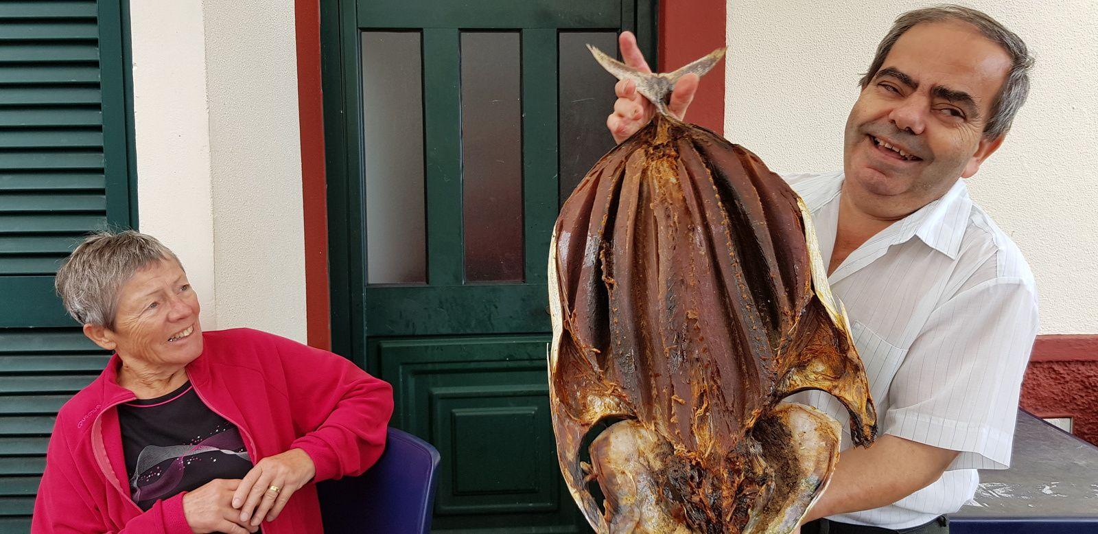 Gaiado poisson séché : excellent pour l'apéro !