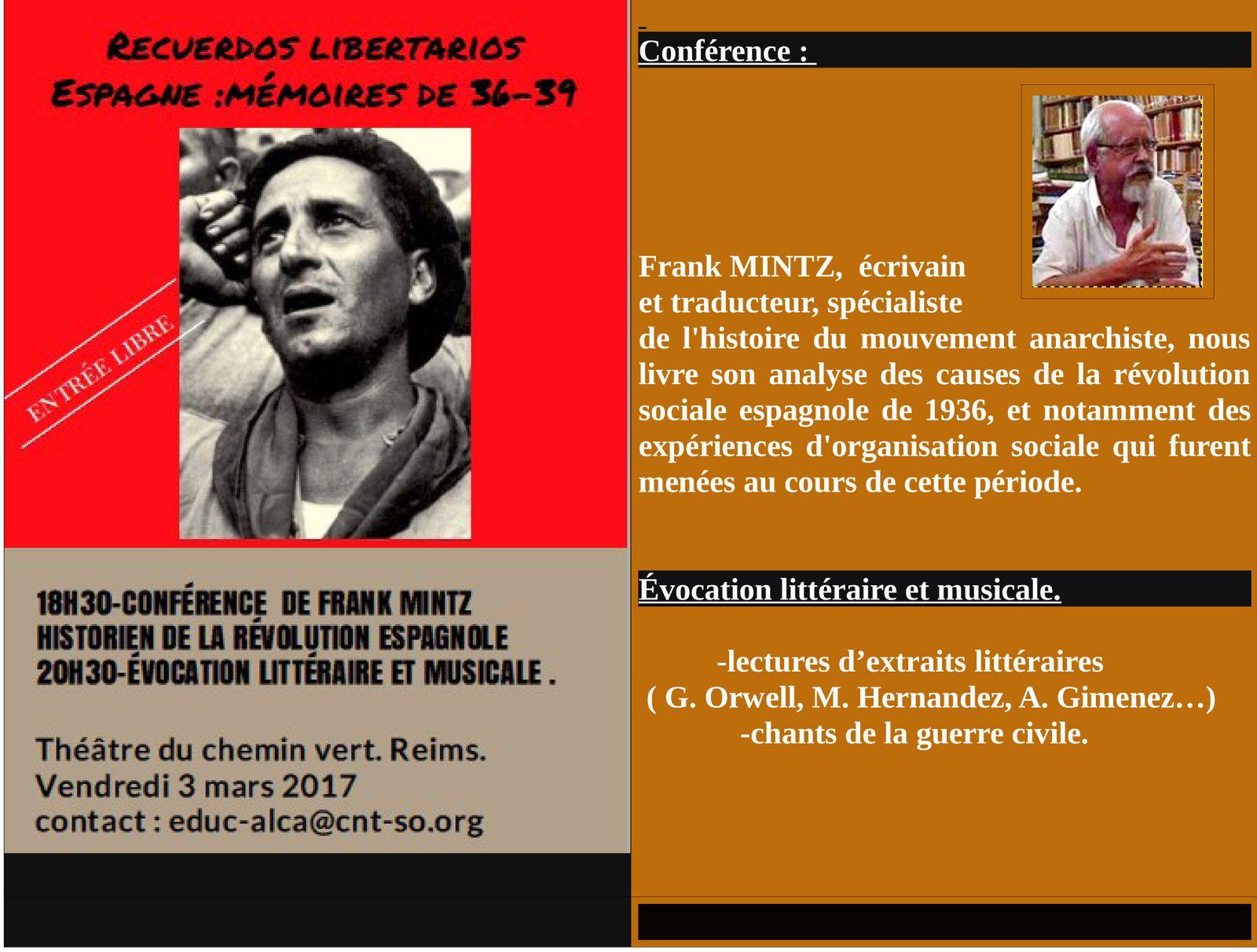 Espagne : mémoires de 36-39