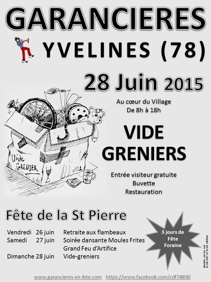 Fête de la St Pierre : du 26 au 28 juin