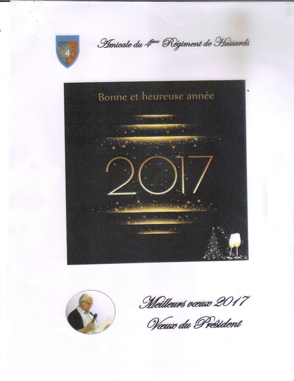 vœux du président Pierre Bouchonneau.