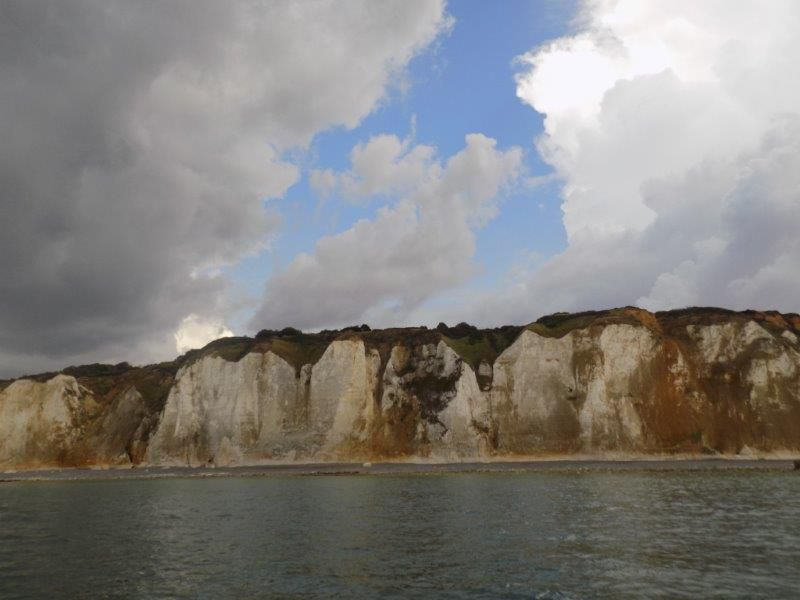 les belles falaises de notre beau pays la France.
