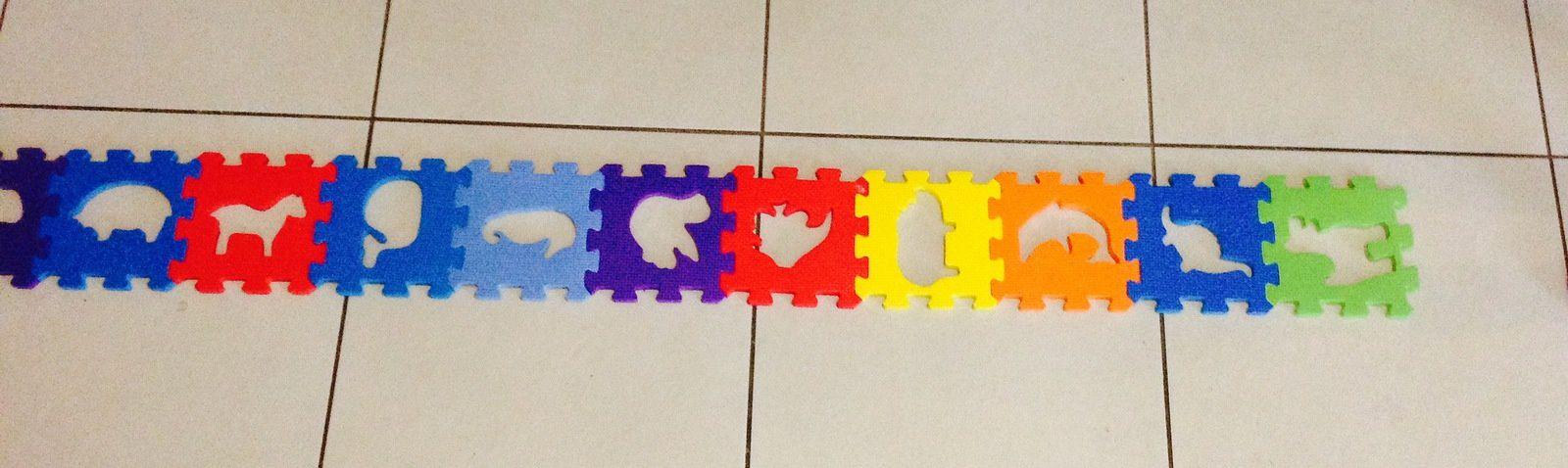 Un jeu autour du puzzle, pas tout à fait comme d'habitude (avec les enfants d'age préscolaire)