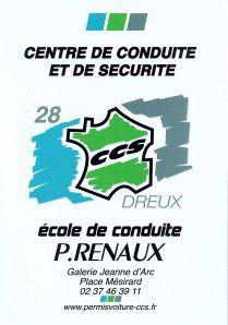 Le planning prévisionnel des 3 prochains mois au Dreux CC