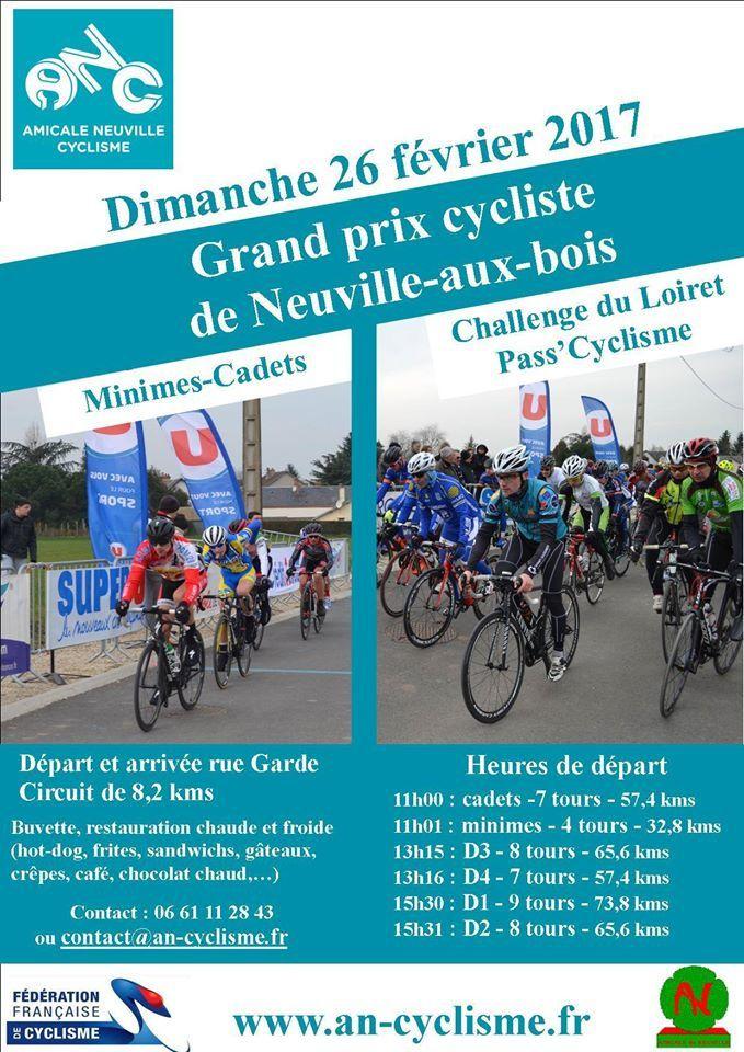 6 courses à Neuville Au Bois (45) le 26 février 2017