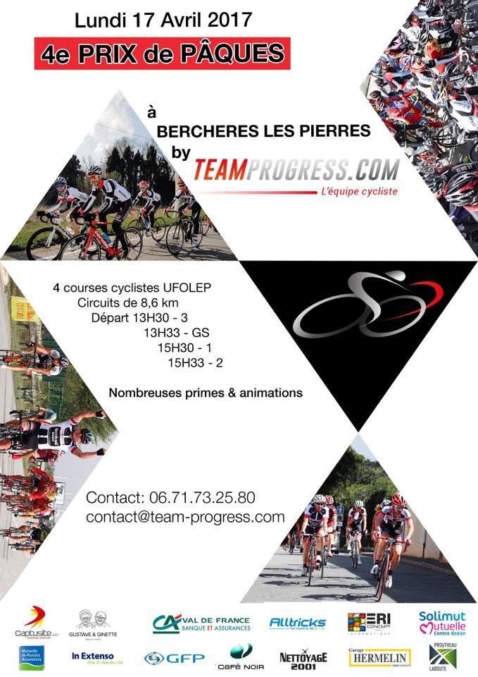 Courses UFOLEP de Berchères Les Pierres (28) demain