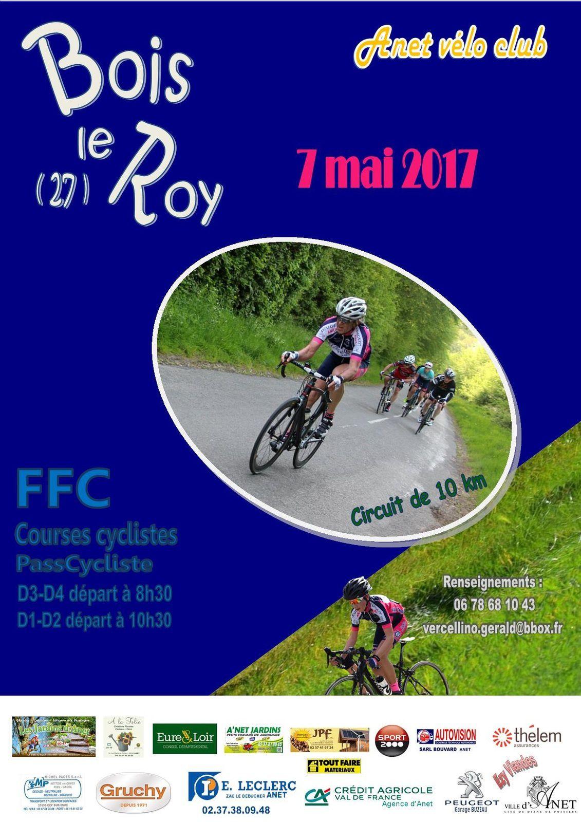 Courses PC de Bois le Roy (27) le dimanche 7 mai 2017