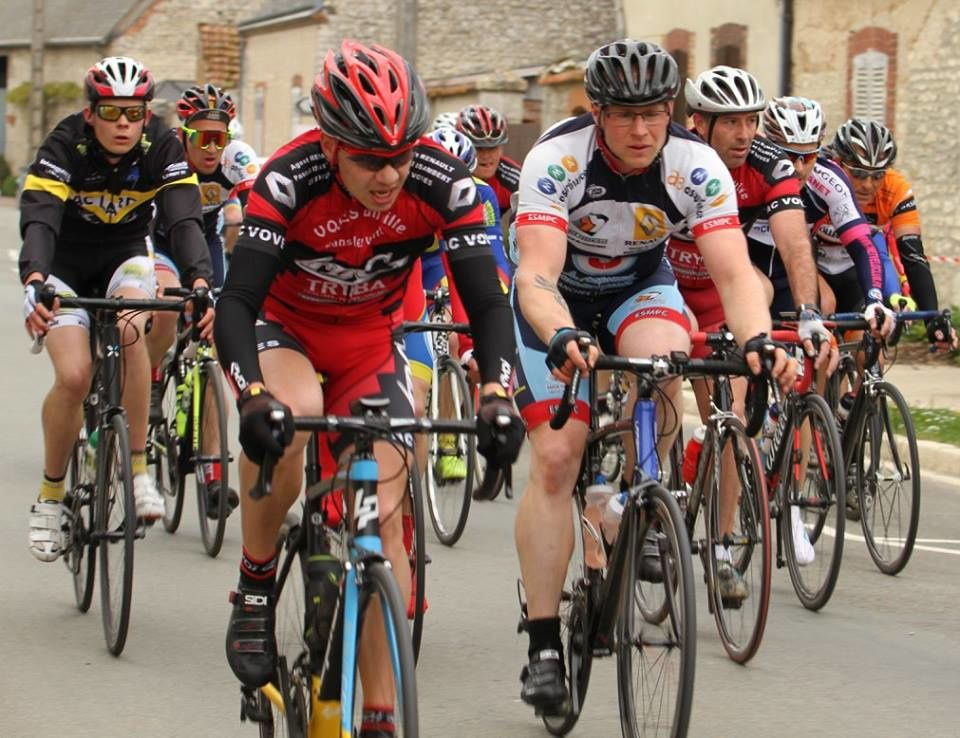 Victoire de Clément Gilbert (ES Maintneon P) à la 2ème étape de la Route des Blés