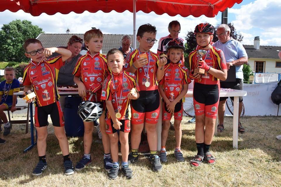 Challenge des écoles de cyclisme d'Eure et Loir 2016-2017 : le Dreux CC caracole en tête