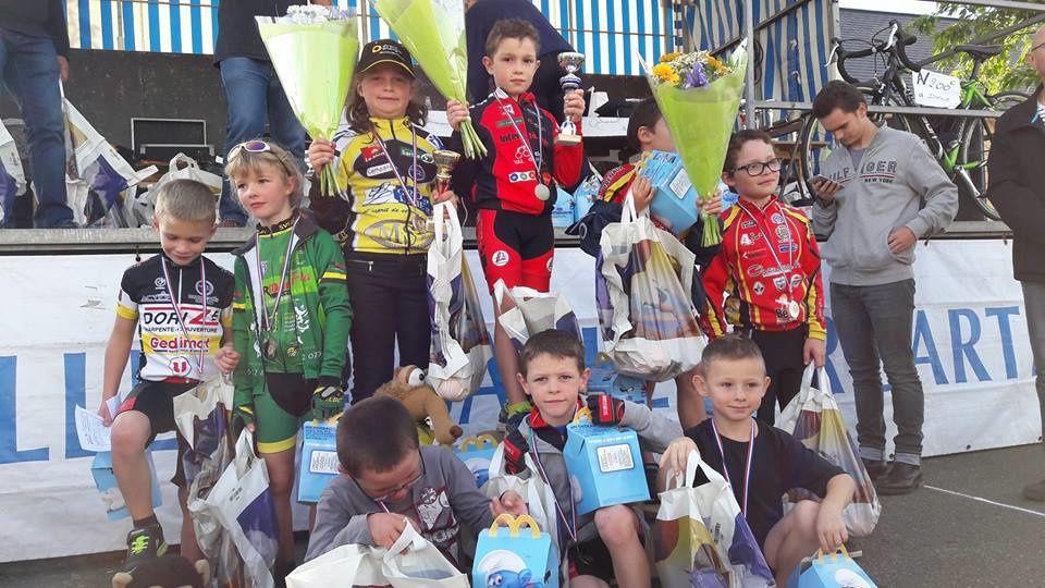 Les résultats de la Réunion école de cyclisme de Sablé Sur Sarthe (72)