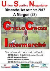 Cyclo-cross de Margon (28) le dimanche 1er octobre 2017