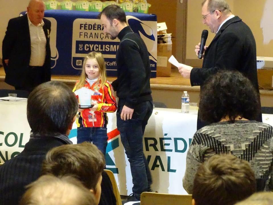 En prélicenciés Manon Marechal remporte le TFJC 28 2016-2017