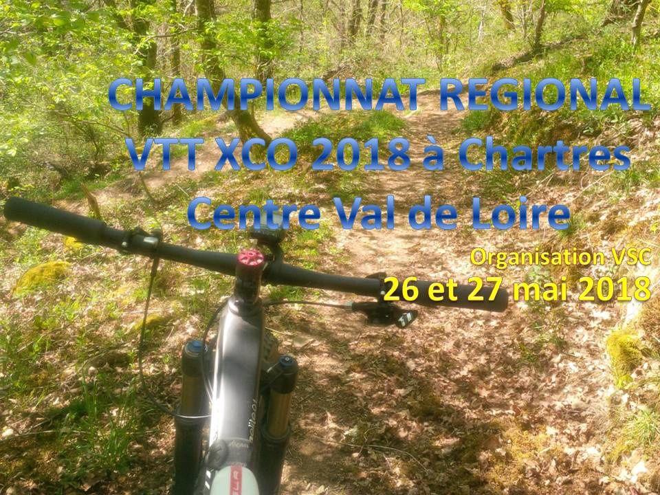 Le championnat régional FFC de VTT XCO à Chartres les 26 et 27 mai 2018