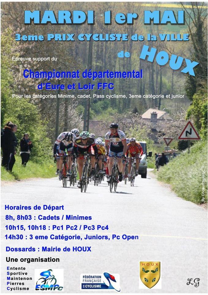 Les courses de Houx (28) du 1er mai support des championnats d'Eure et Loir