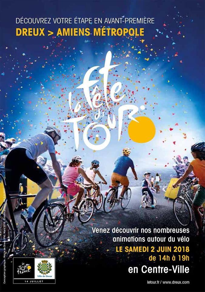 Le programme complet de la fête du Tour à Dreux du samedi 2 juin