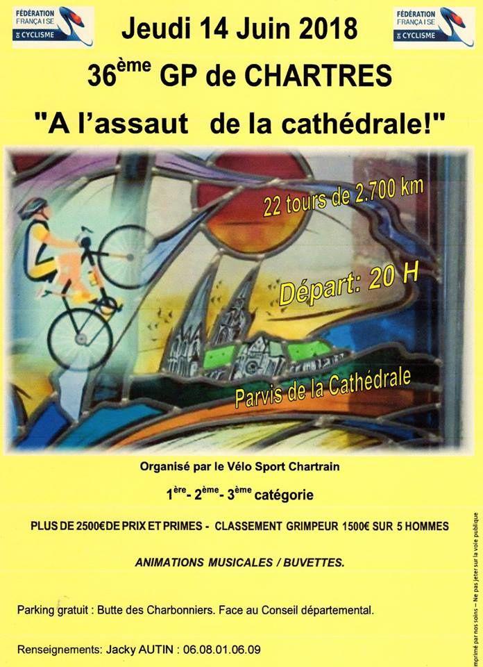 Suite des critériums en Eure et Loir avec Chartres jeudi et Mainvilliers vendredi
