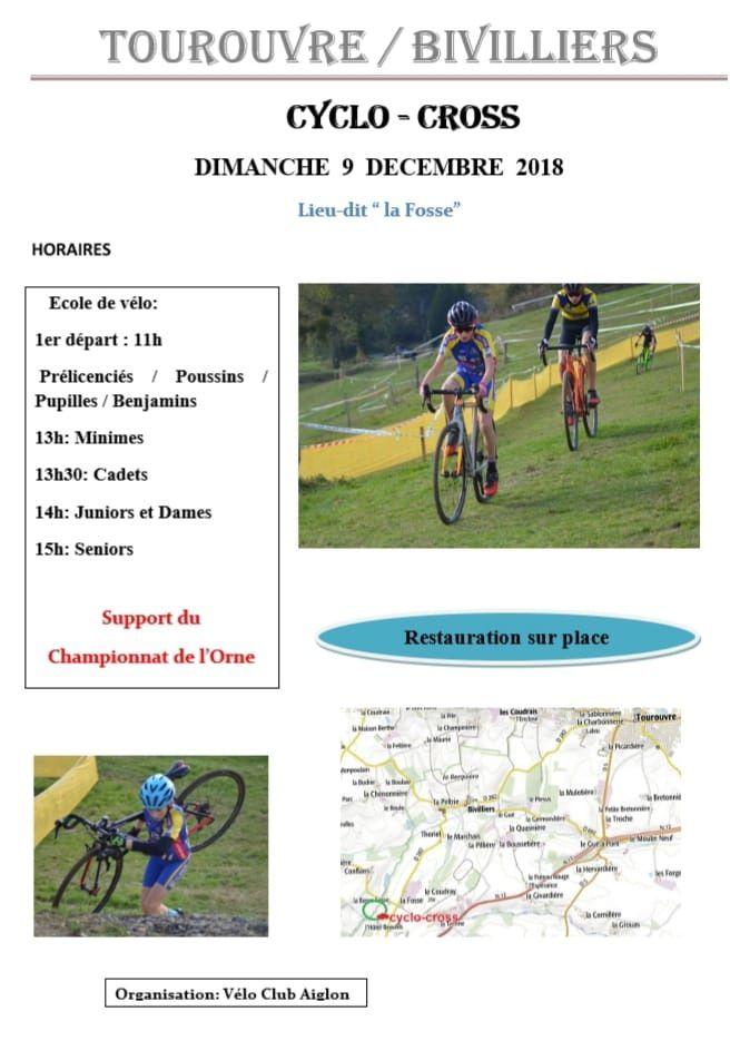 Cyclo-cross de Tourouvre/Bivilliers (61) le 9 décembre