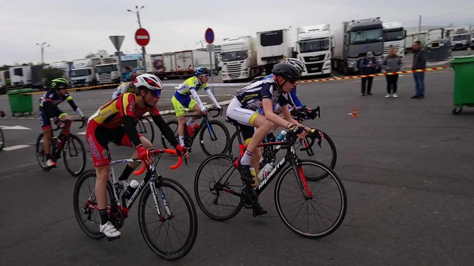 Photo d'archives de Clément lors de sa 7ème place à Rungis, il y a 15 jours.