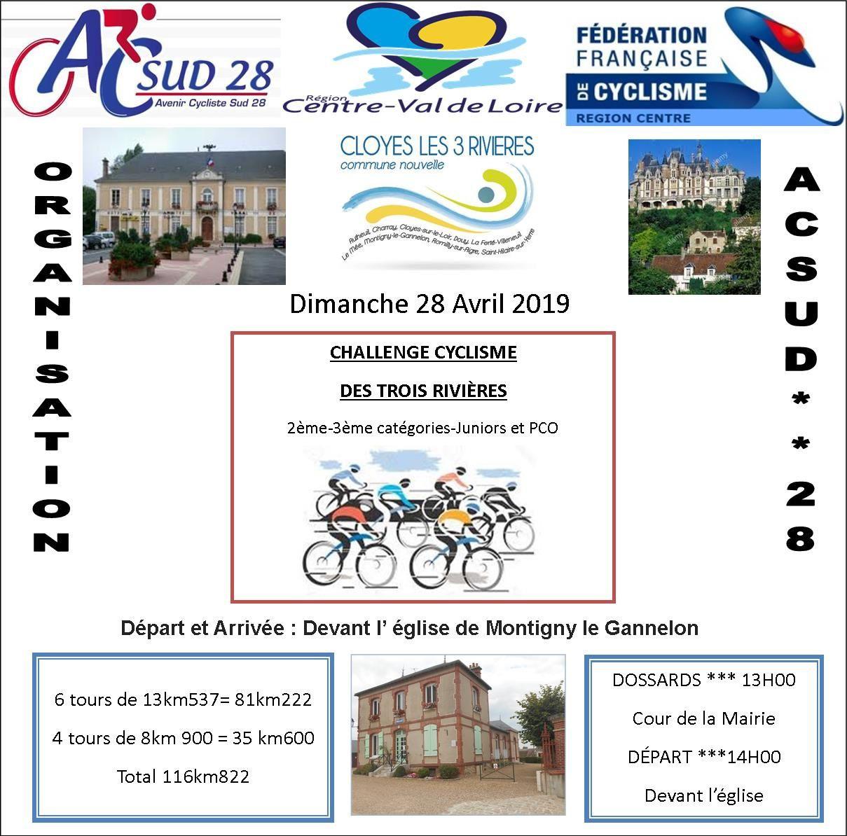 Week-end de courses très chargé en Eure et Loir ces 27 et 28 avril