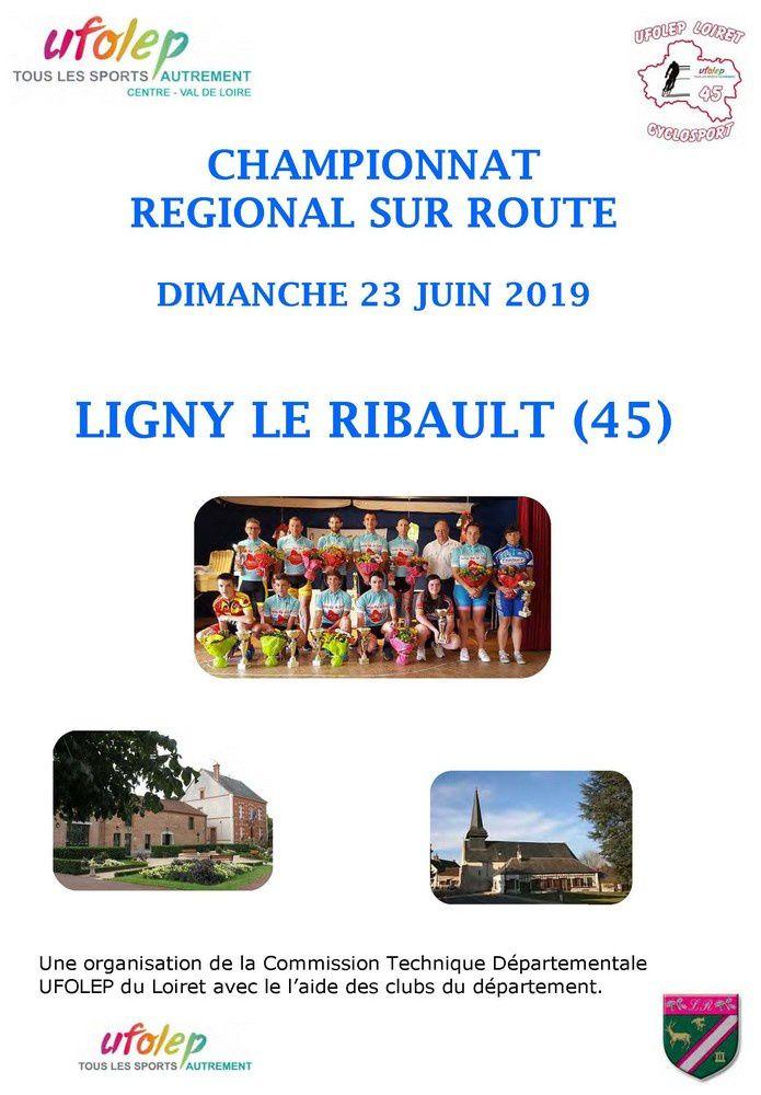 Les engagements pour le Régional UFOLEP de Ligny Le Ribault (45)